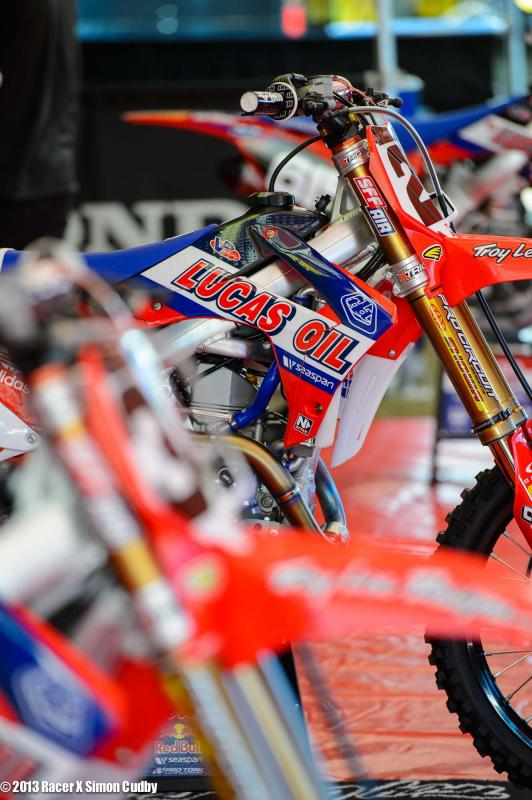 Cole Seely #21 TLD Honda