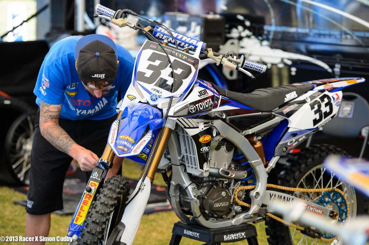 Josh Grant's JGR Yamaha