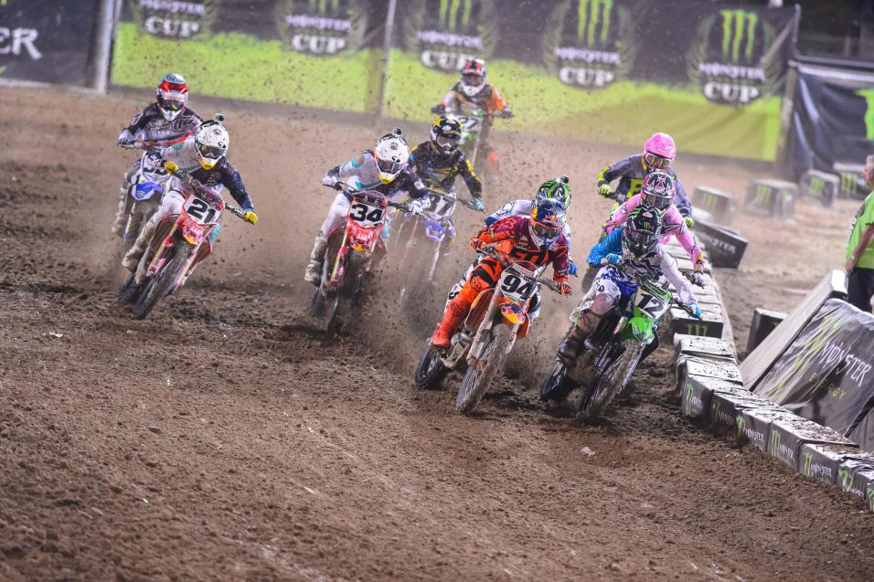 Monster Energy Cup Race Report
