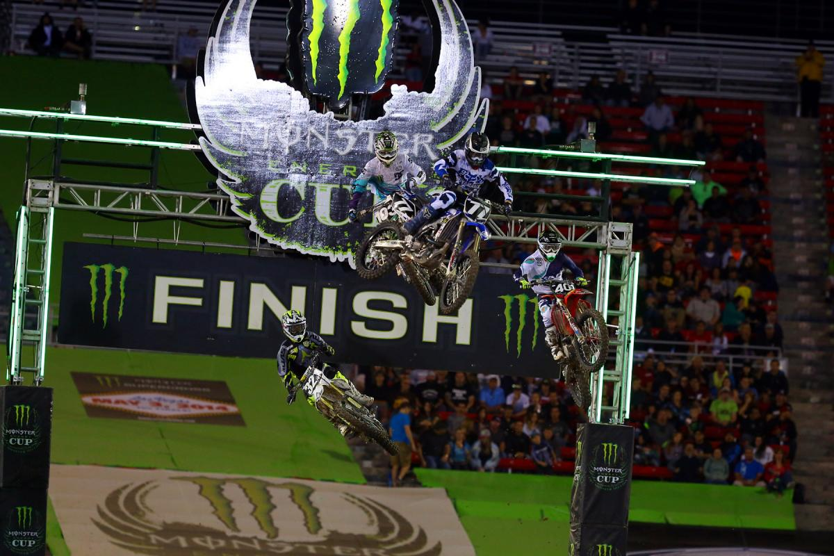 A Different View: Monster Cup
