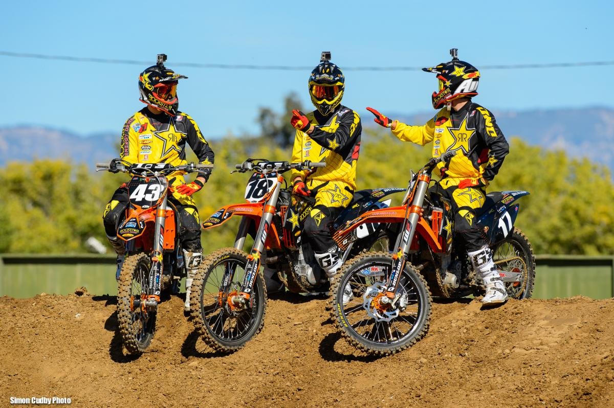 Team Rockstar Energy Racing KTM