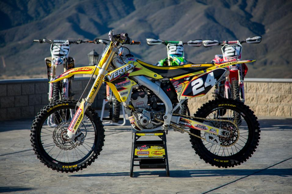 Racer X Tested: 2013  RMZ250F Big Bore