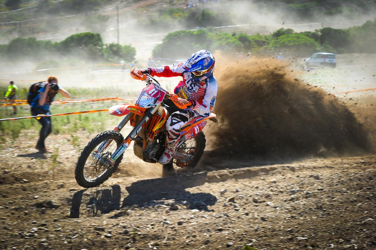2013 US Trophy Team captain Kurt Caselli during this year's ISDE.