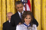 Loretta Lynn Awarded Presidential Medal of Freedom