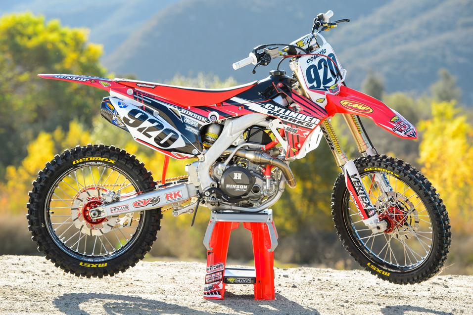 Racer X Tested:  2014 Honda CRF450R