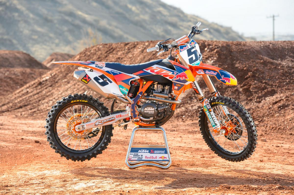 Red Bull KTM 450SX-F Motorcycle