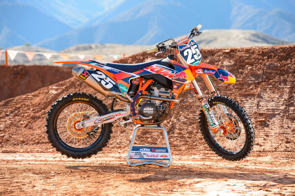 Red Bull KTM 250SX-F Motorcycle