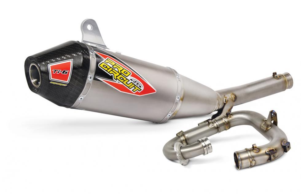 Pro Circuit Ti-6 Titanium Exhaust SystemPhoto: photographer
