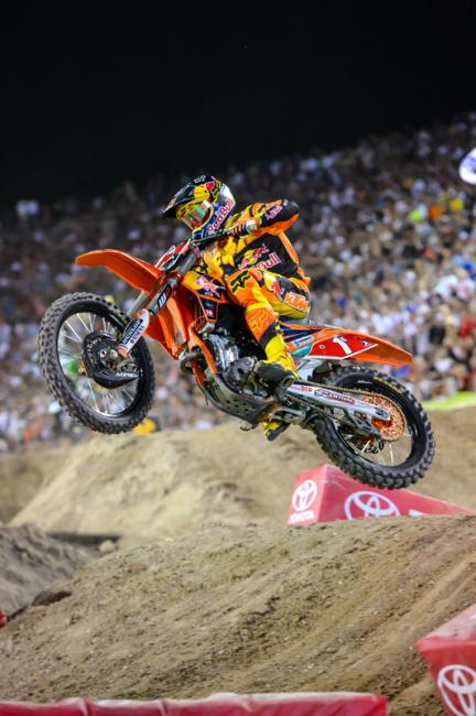 Ken Roczen's chances of being at Anaheim on January 4 would be listed as either