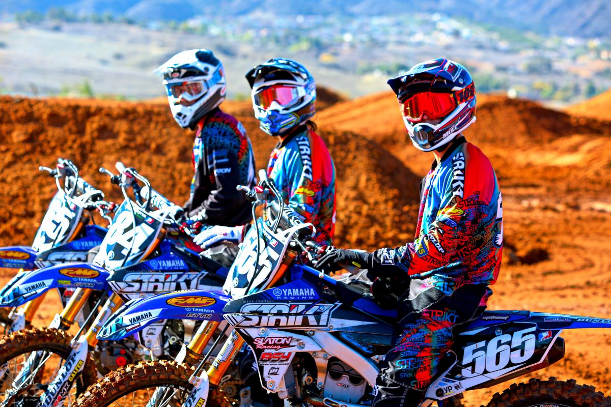 The Strikt Slaton Yamaha team