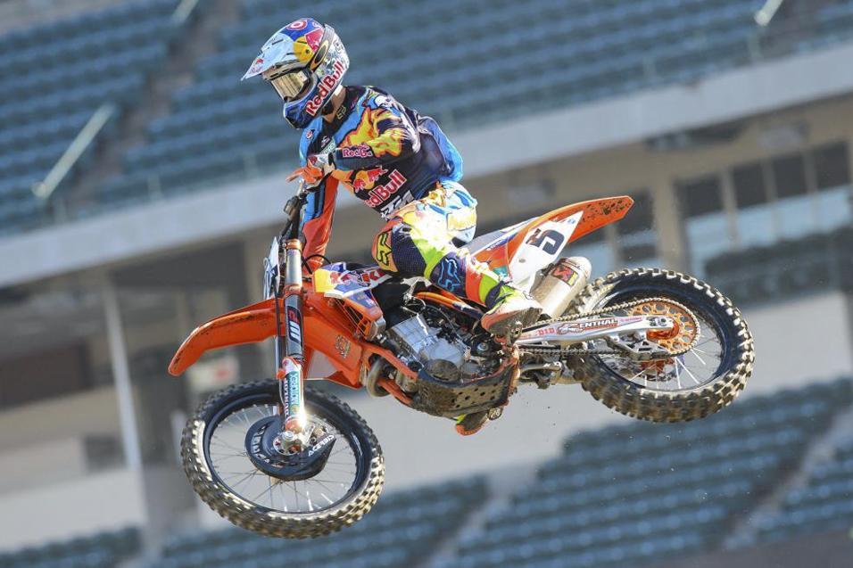 Racer X Films:  Anaheim 1 Press Day