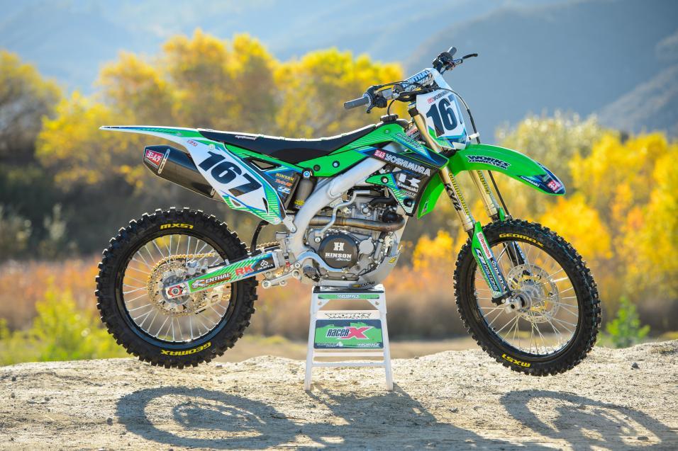Racer X Films:  2014 Kawasaki KX450F