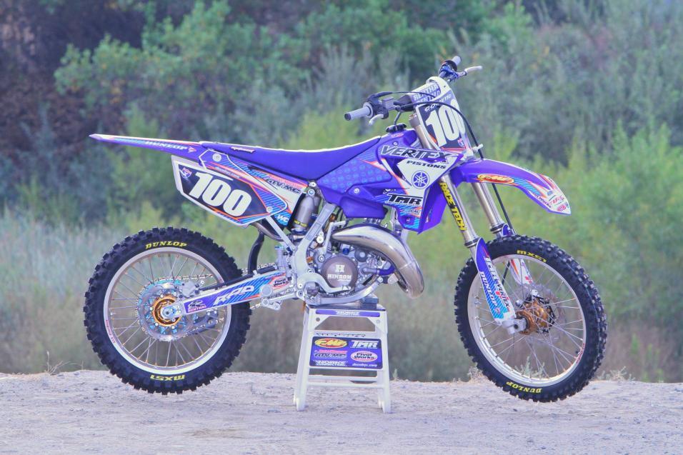 Racer X Tested: Yamaha YZ 125