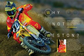 He's a solid racer with a history of good results in 450cc racing. So why can't Weston Peick land a full-time gig? Page 132.
