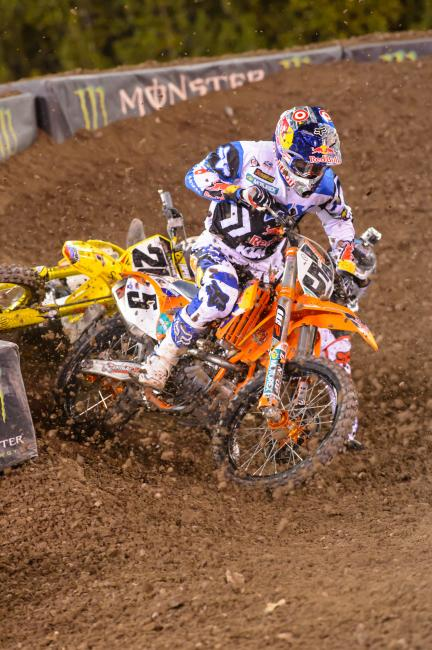 Ryan Dungey was aggressive at A2. Is he a different rider now?