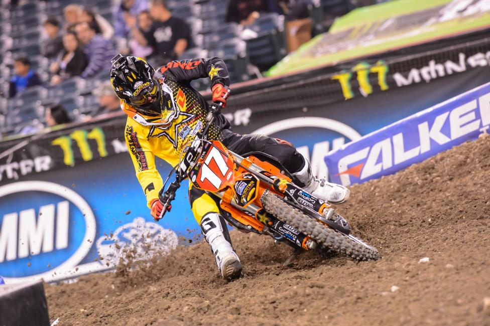 How will Jason Anderson respond after being docked two spots at A2?