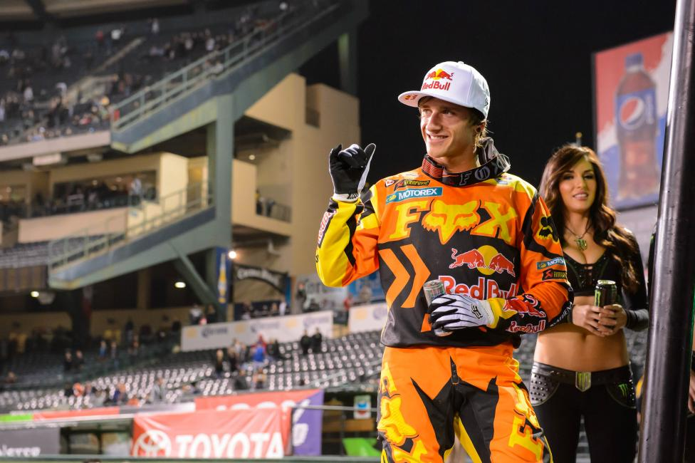Ken Roczen will enter Oakland with the red plate. Will he leave with it? Photo: Simon Cudby