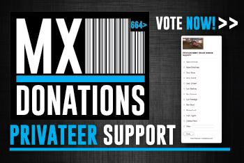 MX Donations to Help Support Privateers