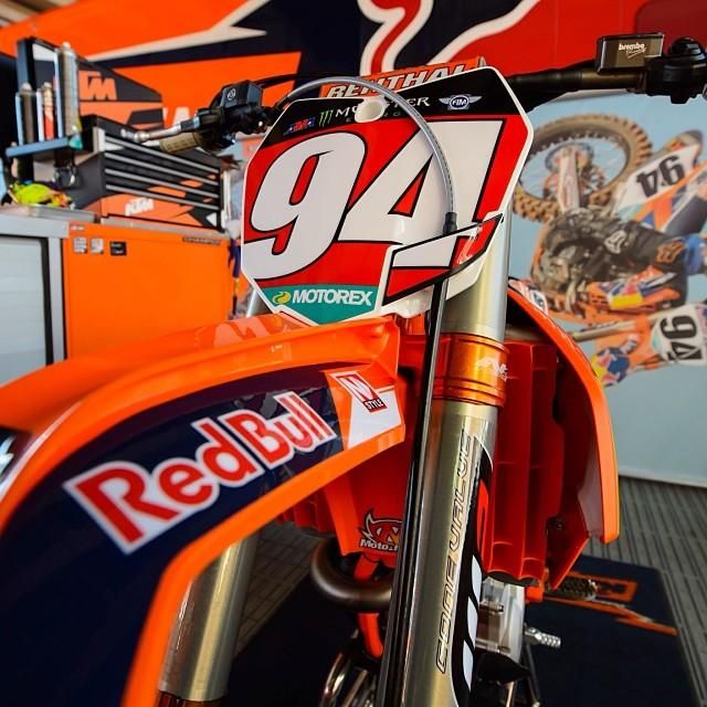 Roczen will be sporting red for the second time this season.