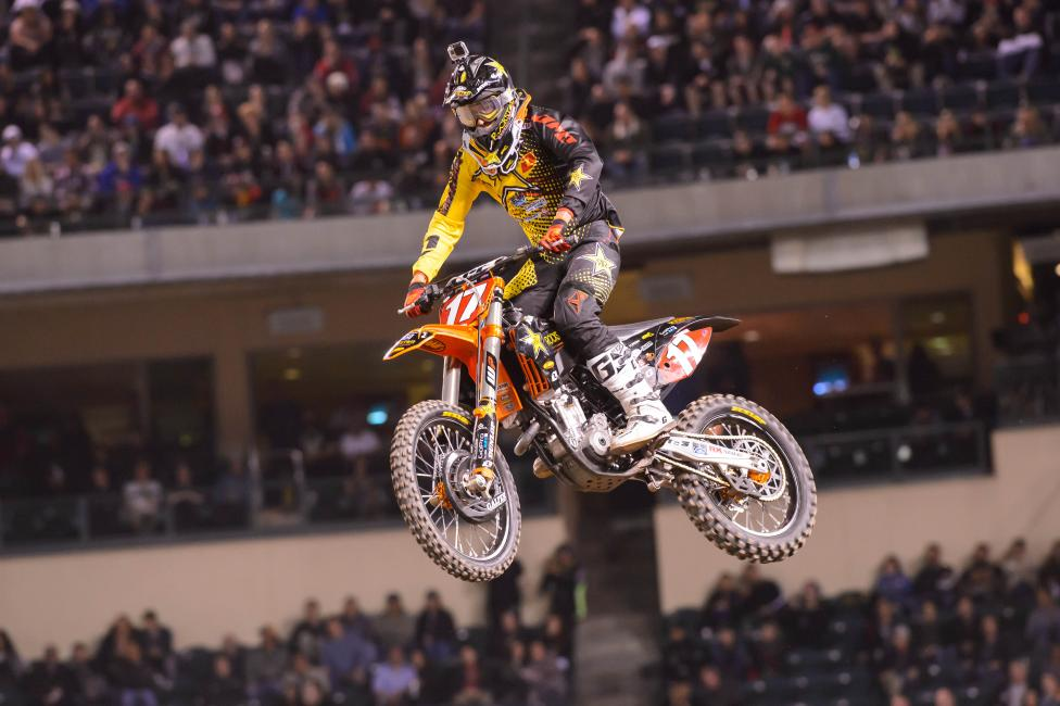 Jason Anderson was one of two riders docked at A2.