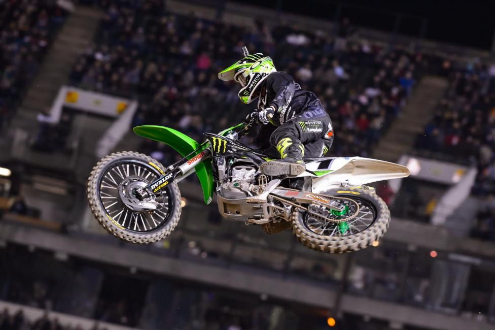 Ryan Villopoto picked up his second win of the season in Oakland. Photo: Simon Cudby