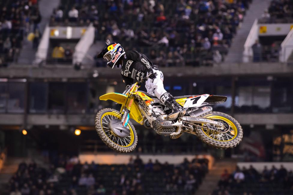 James Stewart made it back-to-back podiums with a second in Oakland.