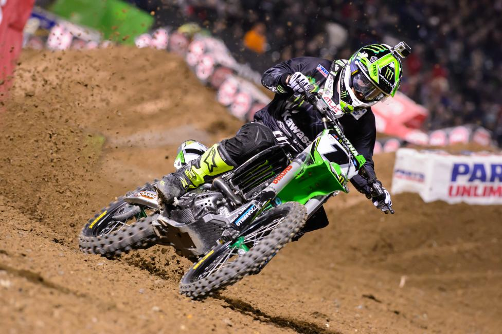 Villopoto captured his second win of the season in Oakland.Photo: Simon Cudby