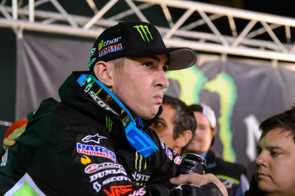 Dean Wilson keep his composure following a devastating loss.