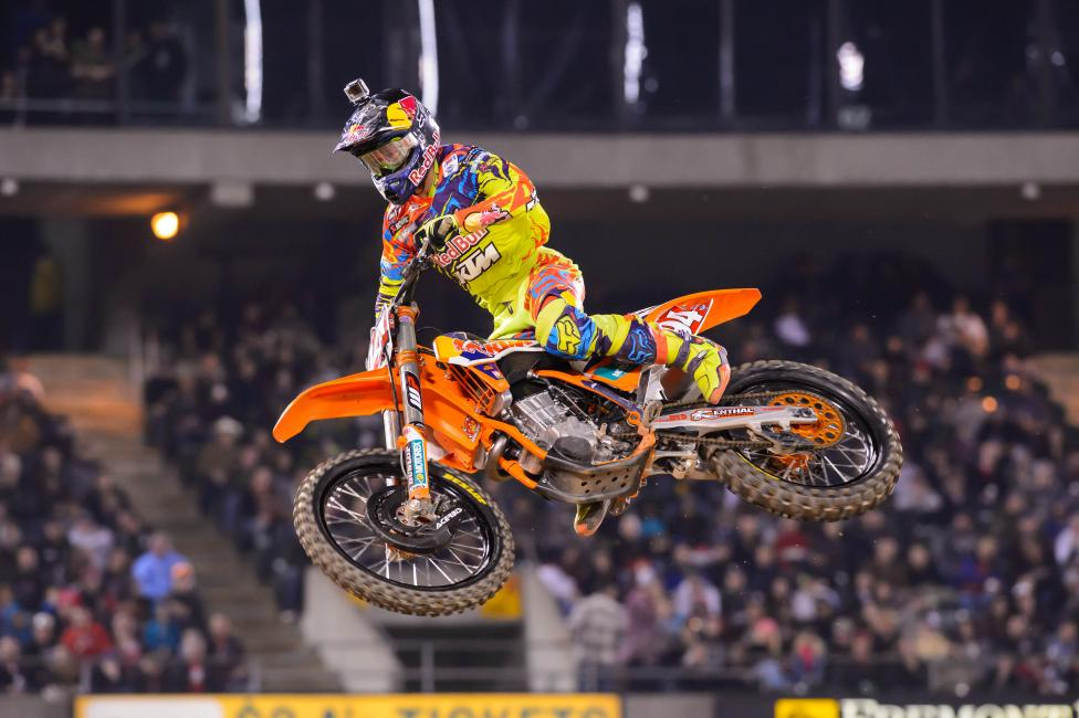 Will Roczen be back on the podium in Anaheim? Photo: Simon Cudby