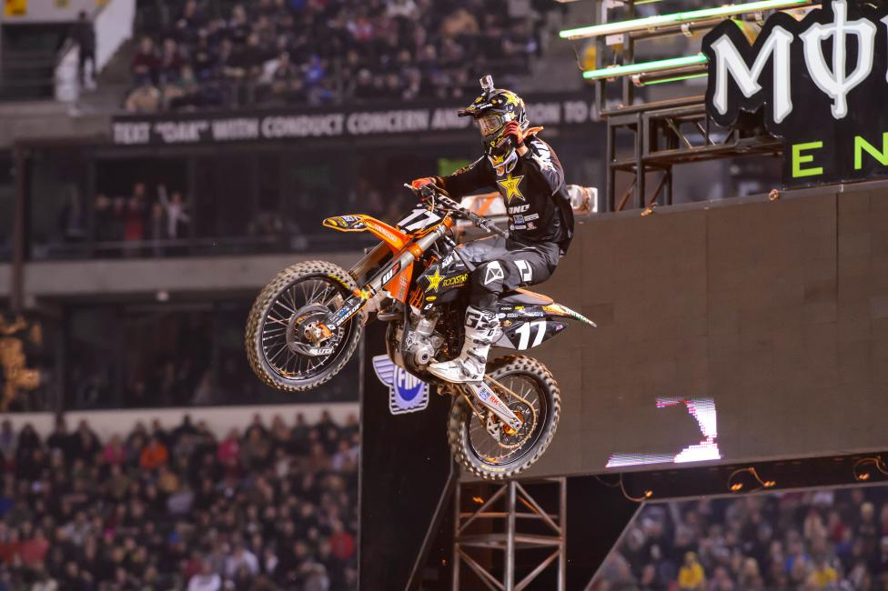 Another come-from-behind win for Jason Anderson in Oakland.