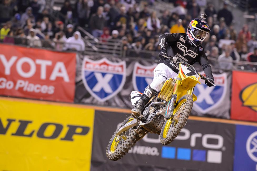 Back-to-back podiums for James Stewart.