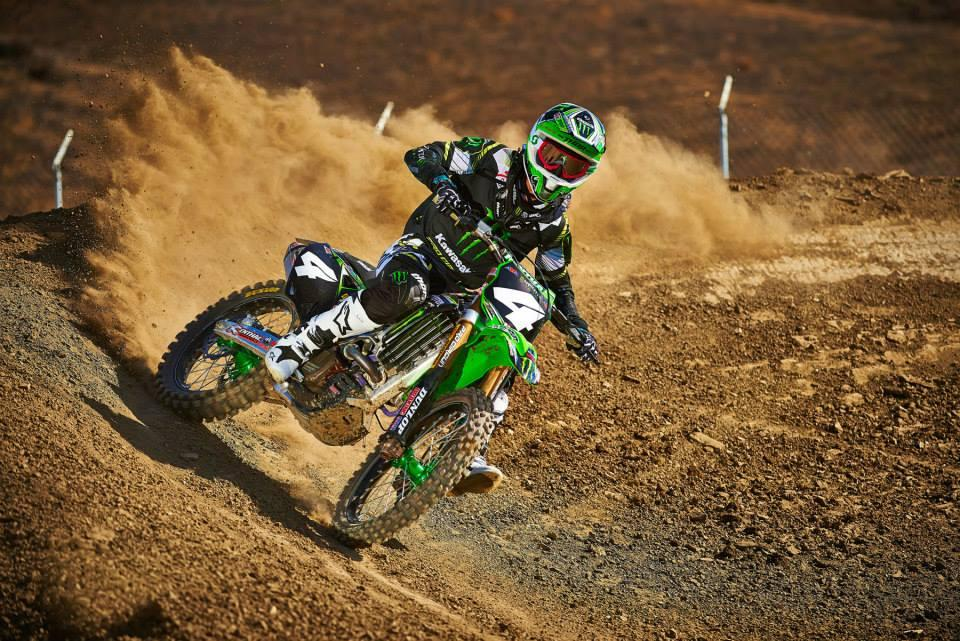 Blake Baggett is expected to be ready for the East Region.  Photo: Monster Energy Kawasaki