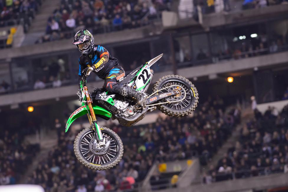 Can Chad Reed capture the magic again in Anaheim? Photo: Simon Cudby