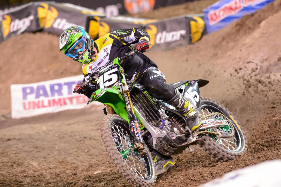 Dean Wilson's win in Anaheim was the first for Pro Circuit in 2014. Photo: Simon Cudby