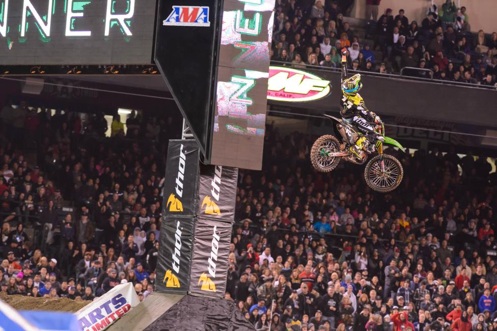 Dean Wilson rebounded at A3 following a devastating loss in Oakland. Photo: Simon Cudby