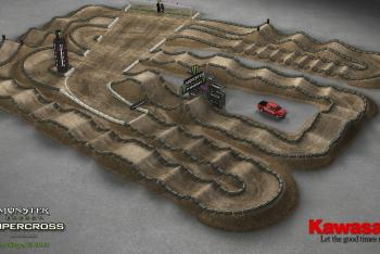 Animated Track Map: San Diego SX