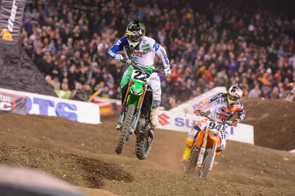 Chad Reed was the best in Anaheim, winning both A2 and A3.  Photo: Simon Cudby
