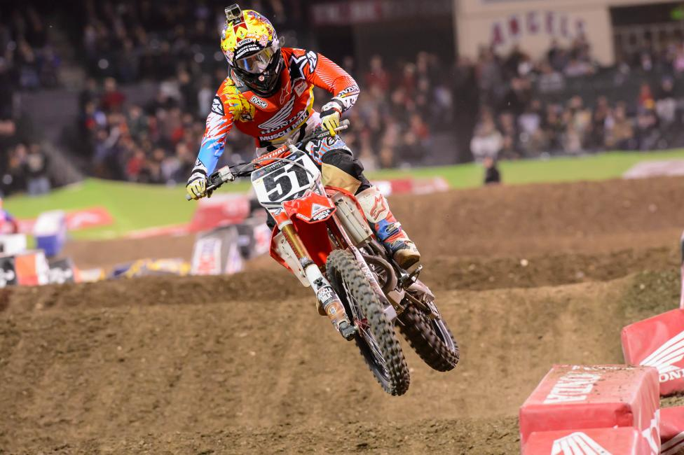 Justin Barcia broke out of his slump with a fourth.