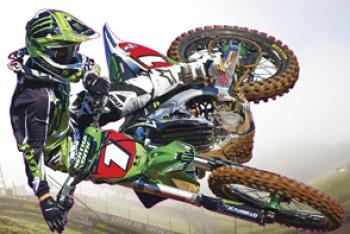 Get your Racer X wall-cling in San Diego