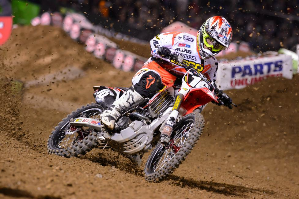 Zach Osborne is out this weekend due to a broken collarbone.