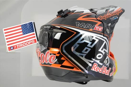 The TLD lids for this weekend. Photo: TLD