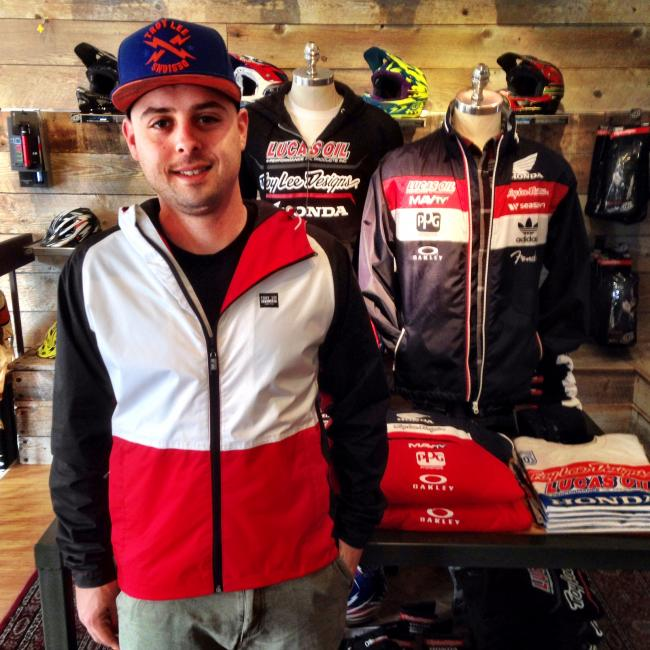 If you make it to Laguna Beach, stop in an visit Tommy and the gang at Troy Lee Designs' boutique/museum.Photo: DC
