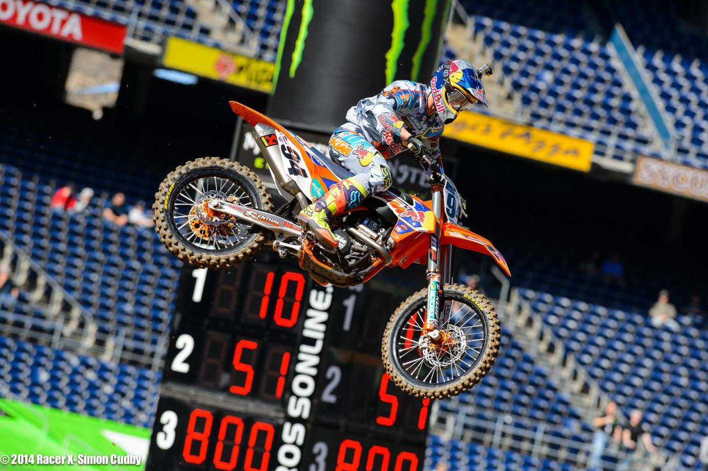 Roczen was fastest in the first timed practice session.Photo: Cudby