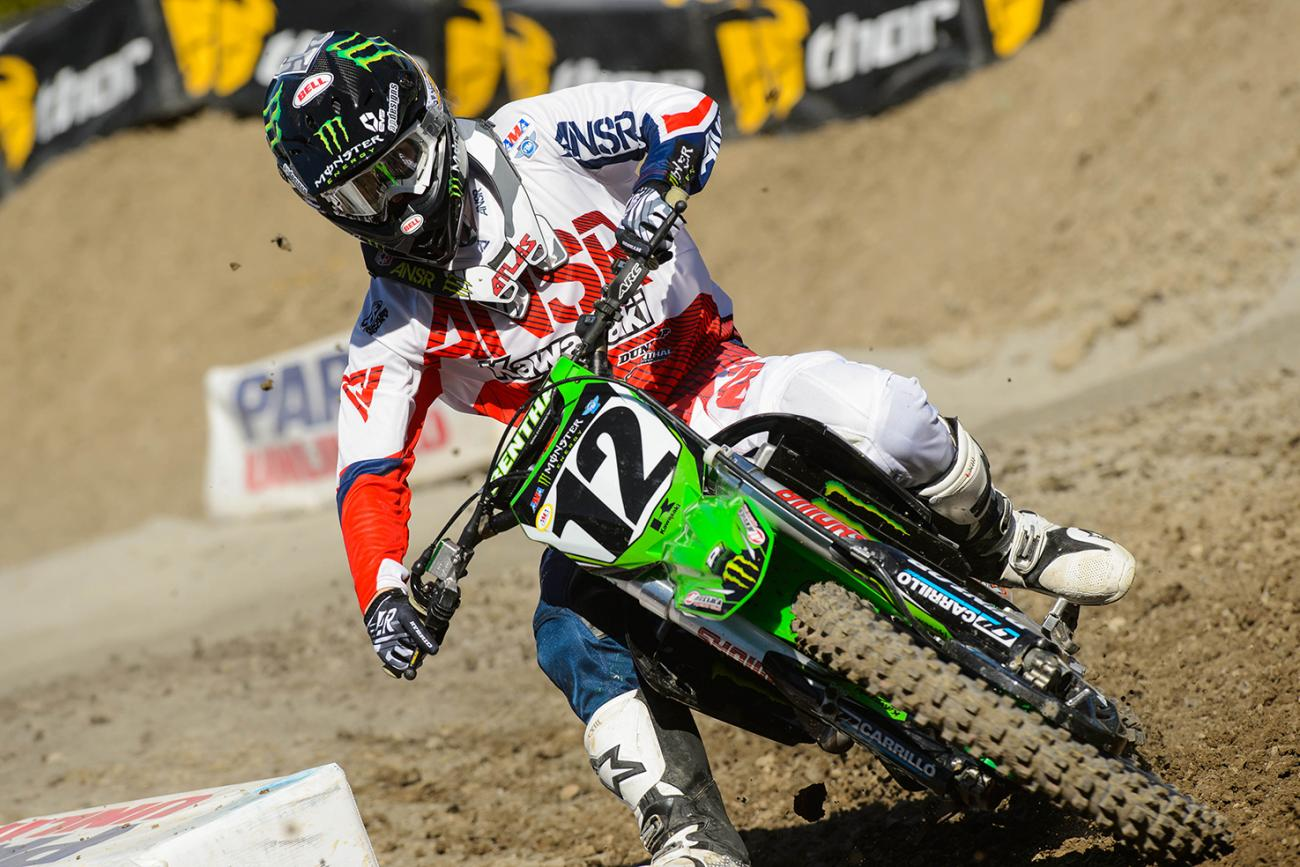 Weimer Out After Practice Crash