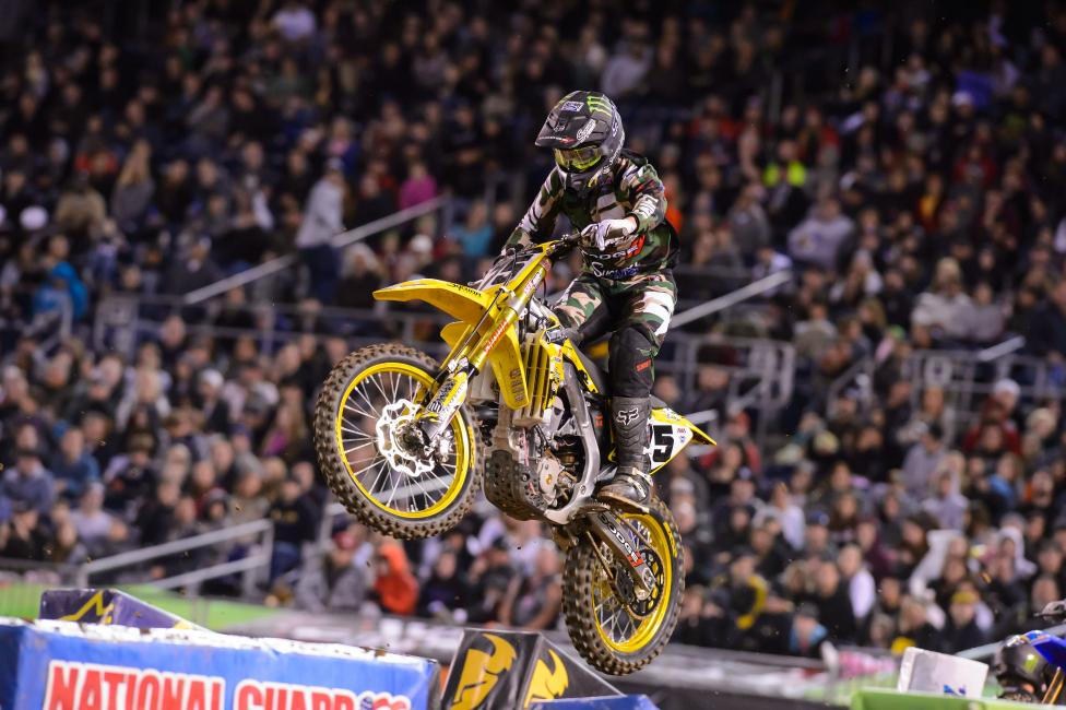 Josh Hill returned from a broken collarbone suffered in Oakland to finish 11th in San Diego.