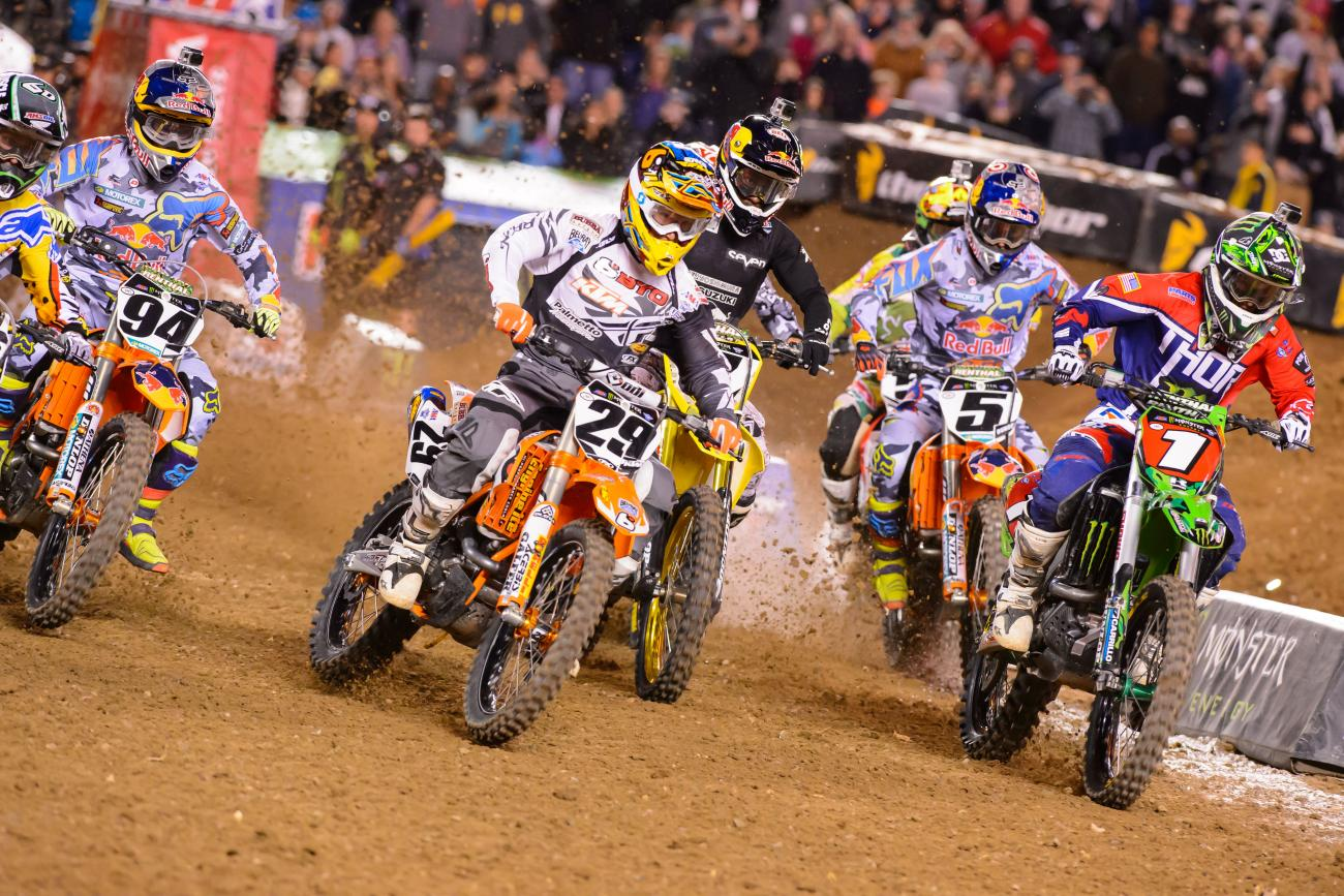 Breakdown: Supercross Geometry