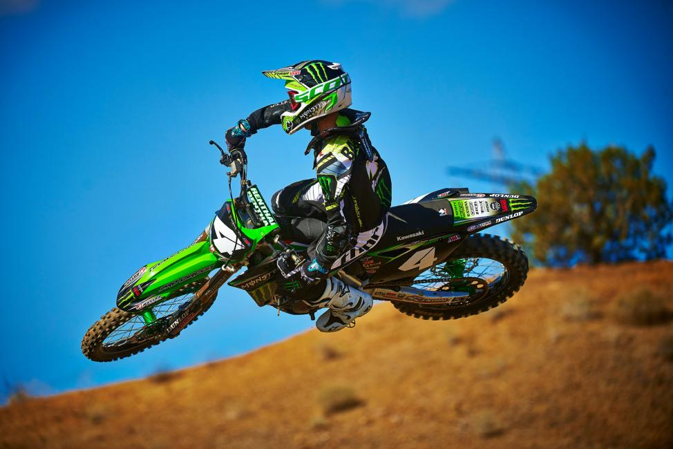 Blake Baggett is returning from an off-season foot injury.  Photo: Monster Energy