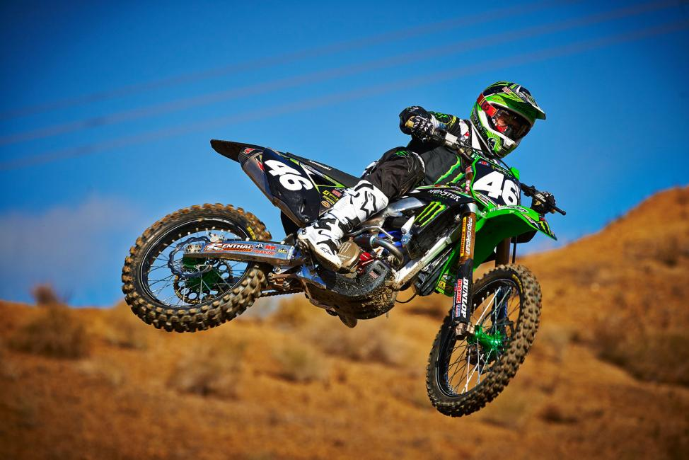 Cianciarulo will make his pro SX debut in Dallas. Photo: Monster Energy