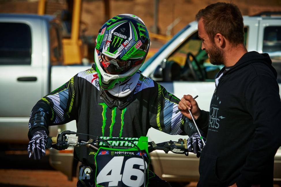 Can Cianciarulo challenge for a title in his rookie season?Photo: Monster Energy