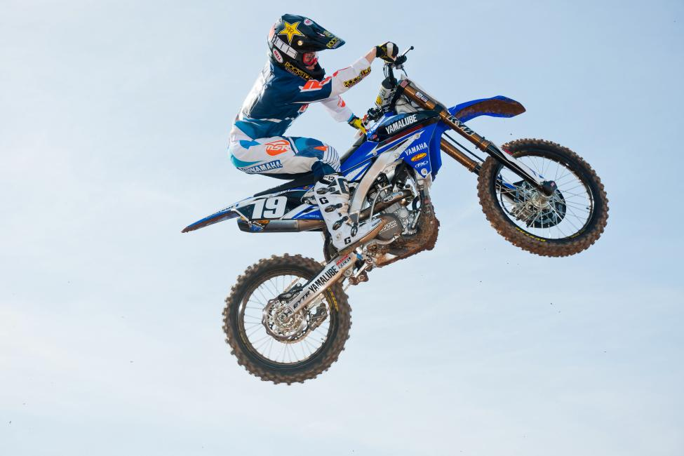 Martin is entering his sophomore supercross season. Photo: Steve Cox